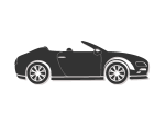 Hire convertibles sports car in Italy